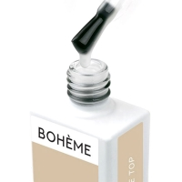 BOHEME, No Wipe Top - топ средне-густой с суперблеском, 10 мл