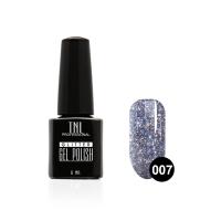 Гель-лак TNL - GLITTER №07 - Синий (6 мл.)