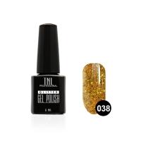 Гель-лак TNL - GLITTER №38 - Нарциссово-желтый (6 мл.)