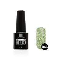 Гель-лак TNL - GLITTER №46 - Бело-зеленый (6 мл.)
