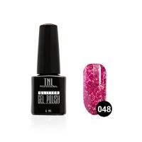 Гель-лак TNL - GLITTER №48 - Пурпур (6 мл.)