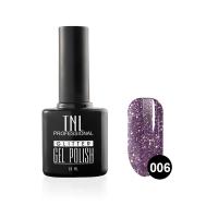 Гель-лак TNL - GLITTER №06 - Фиолетовый (10 мл.)