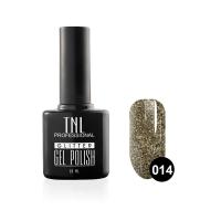 Гель-лак TNL - GLITTER №14 - Серый (10 мл.)