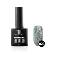 Гель-лак TNL - GLITTER №23 - Васильковый (10 мл.)