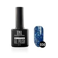 Гель-лак TNL - GLITTER №30 - Кобальтовый (10 мл.)