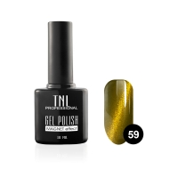 Гель-лак TNL - кошачий глаз №59 - золотая пальма (10 мл.)