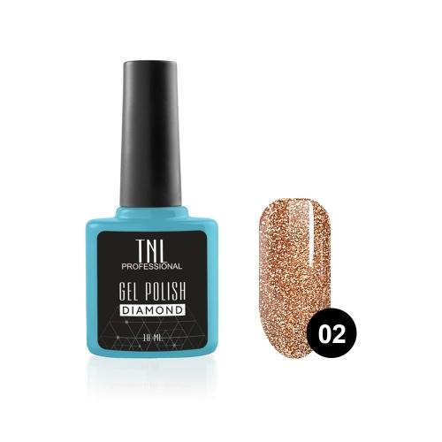 Гель-лак TNL Diamond №02 Топаз (10 мл)