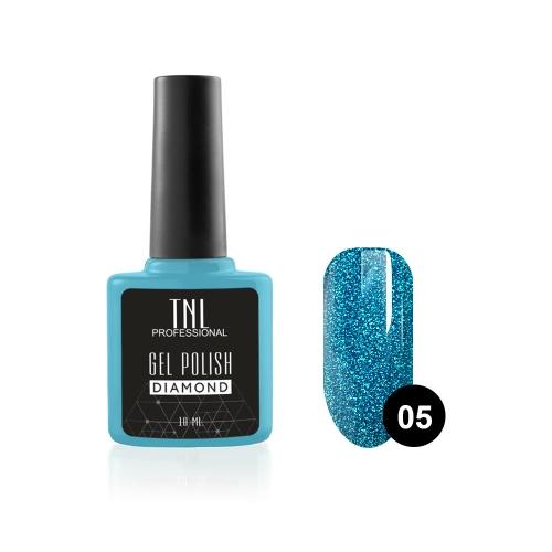Гель-лак TNL Diamond №05 Сапфир (10 мл)