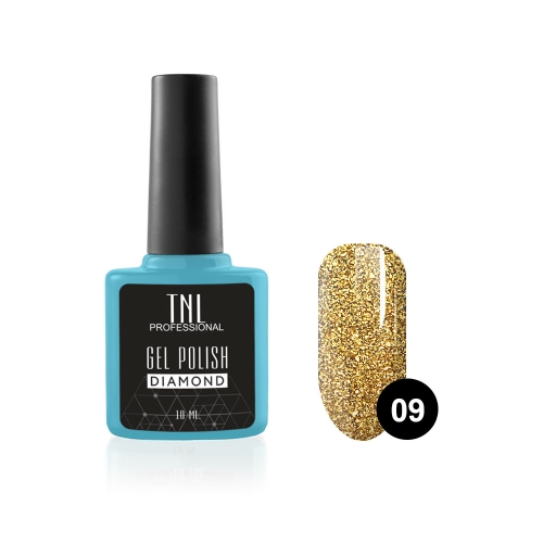 Гель-лак TNL Diamond №09 Цитрин (10 мл)