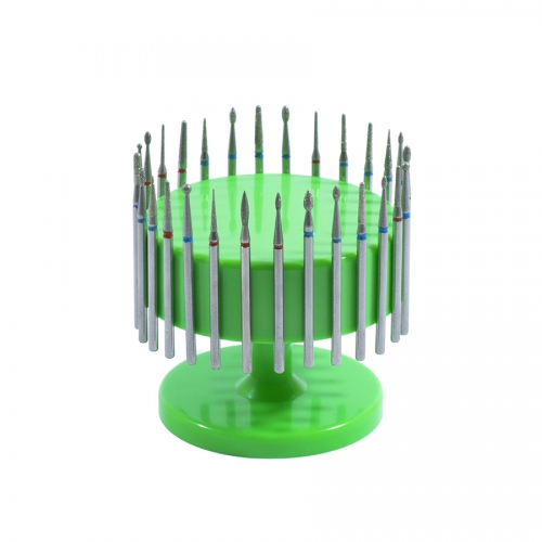 Подставка для фрез (насадок) магнитная, зеленая