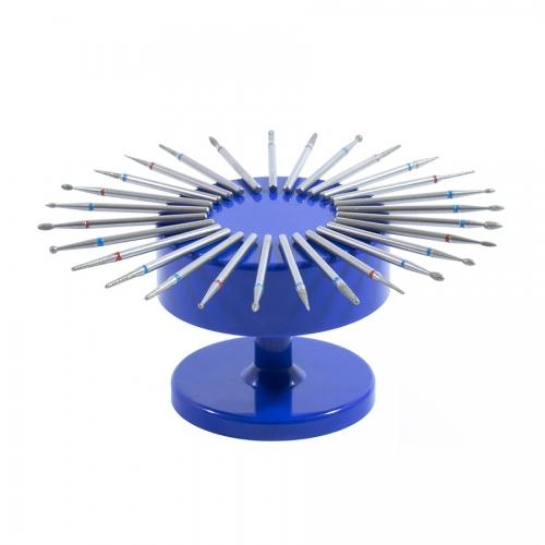 Подставка для фрез (насадок) магнитная, синяя