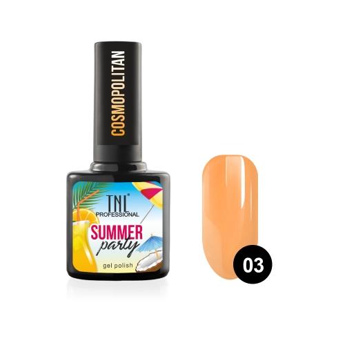 Гель-лак TNL Summer Party - Cosmopolitan №03 (10 мл.)