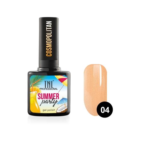 Гель-лак TNL Summer Party - Cosmopolitan №04 (10 мл.)