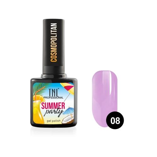Гель-лак TNL Summer Party - Cosmopolitan №08 (10 мл.)