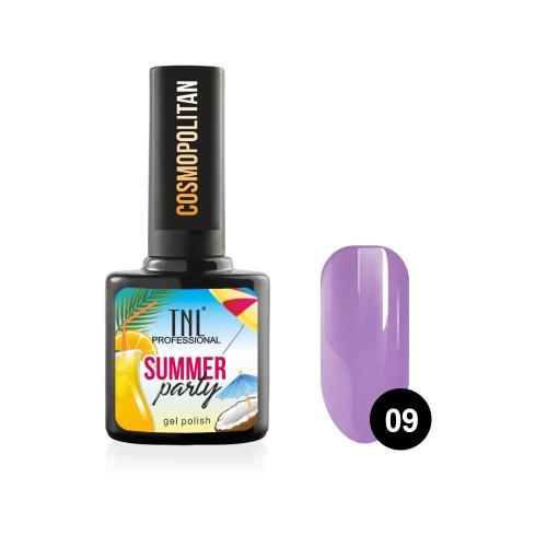 Гель-лак TNL Summer Party - Cosmopolitan №09 (10 мл.)