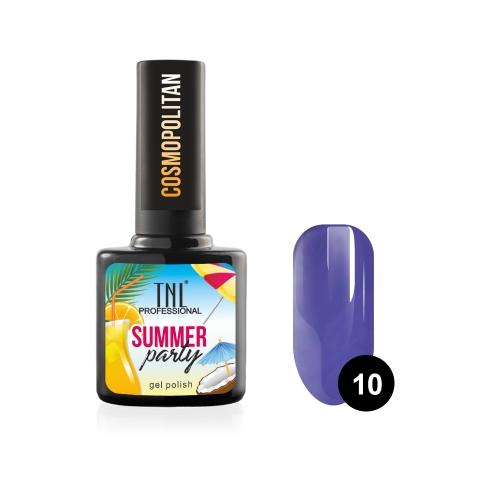 Гель-лак TNL Summer Party - Cosmopolitan №10 (10 мл.)