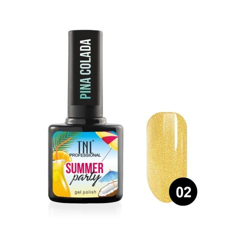 Гель-лак TNL Summer Party - Pina Colada №02 (10 мл.)