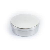 Металлический круглый с крышкой и разделителем 76х25_2