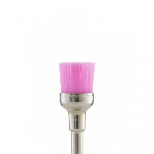 Щетка браш розовая мягкая