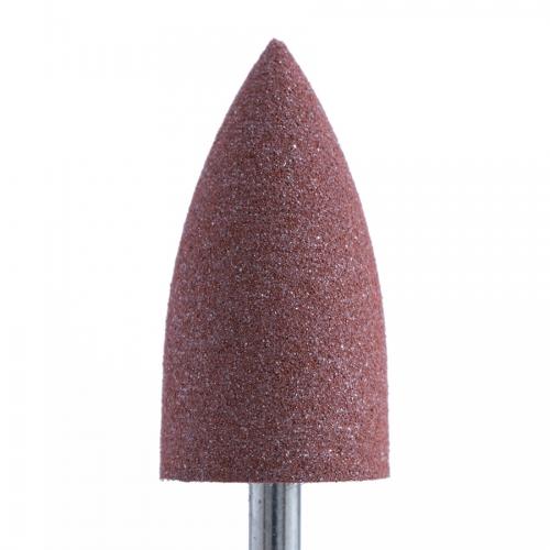Полир силикон-карбидный Конус, 10 мм, грубый, 410, коричневый