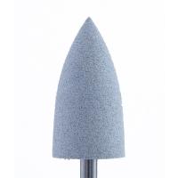 Silver Kiss. Полир силикон-карбидный Конус, 10 мм, средний, 410, серый (Китай)