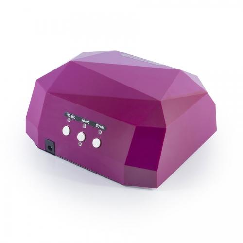 Гибридная лампа CCFL LED Розовая