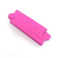 Разделители для пальцев, розовые 5 пар/уп.