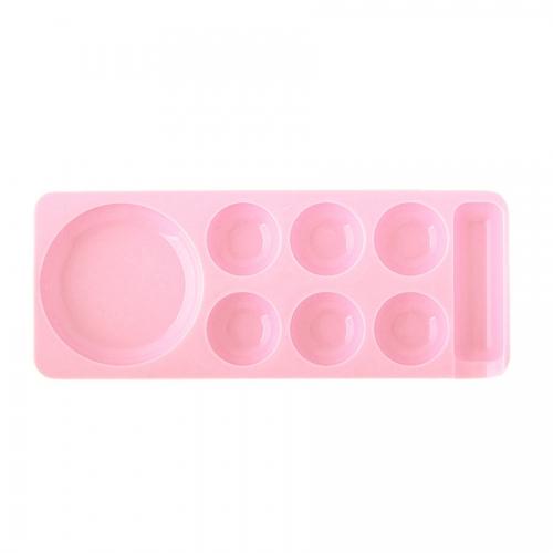 Палитра для шеллака, розовая, малая
