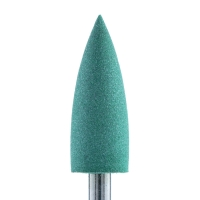Silver Kiss, Полир силикон-карбидный Конус, 6 мм, тонкий, 406, зеленый (Китай)