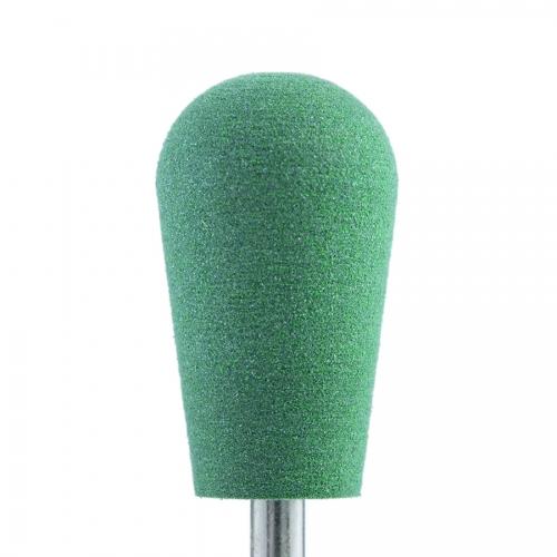 Полир силикон-карбидный Конус обратный, 10 мм, тонкий, 510, зеленый