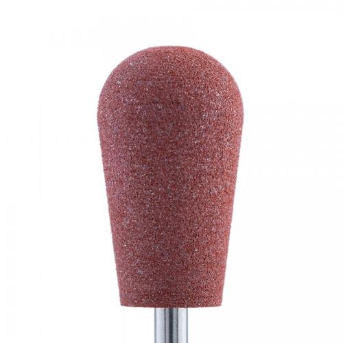 Полир силикон-карбидный Конус обратный, 10 мм, грубый, 510, коричневый