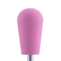 Полир силикон-карбидный Конус обратный, 10 мм, тонкий, 510, розовая