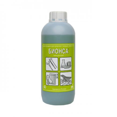 Средство дезинфицирующее Бионса, 1 литр