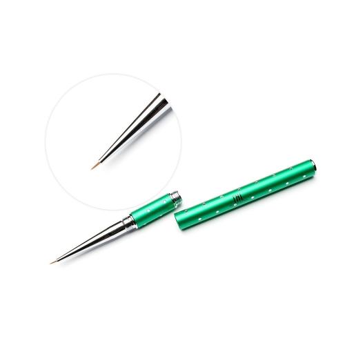 Кисть для гель-краски TNL - зеленая