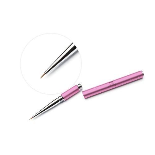 Кисть для гель-краски TNL - темно-розовая