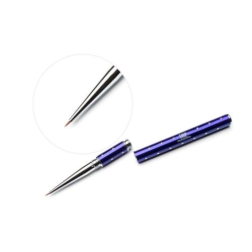 Кисть для гель-краски TNL - фиолетовая