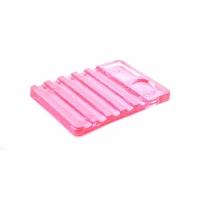 Подставка для кистей - розовая