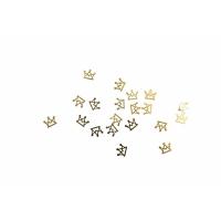 Дизайн золотистый металл TNL - Король (20 шт/уп)