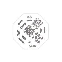 Трафарет металлический для стемпинга QA-28