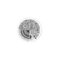 Трафарет металлический для стемпинга малый TNL - Ассорти (в индивидуальной упаковке)