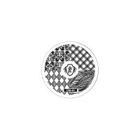 Трафарет металлический для стемпинга малый TNL - Герб (в индивидуальной упаковке)