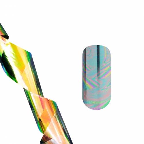 Фольга для литья (голографические волны) NEW для маникюра купить в интернет-магазине | kristallnails.ru