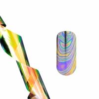 Фольга для литья (голографические разводы узкие) NEW
