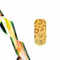 Фольга для литья (круги на золоте) NEW