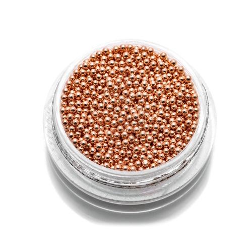 Бульонки металлические TNL - бронза - 1,2 мм (7 гр.)