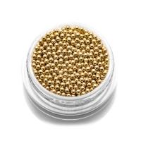 Бульонки металлические TNL - золото - 1,5 мм (7 гр.)