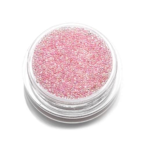 Бульонки стеклянные TNL - розовая карамель (3 гр.)