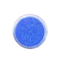 Меланж-сахарок для дизайна ногтей TNL №20 неон голубой