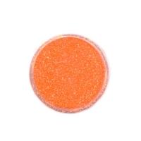 Меланж-сахарок для дизайна ногтей TNL №21 неон оранжевый