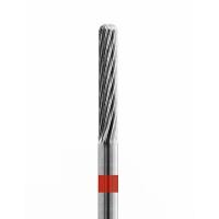 Кристалл, Твердосплавная фреза Цилиндр закругленный, мелкая, 60230 для снятия гель лака с ногтей